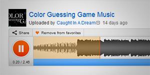 The Color Guessing Game Music