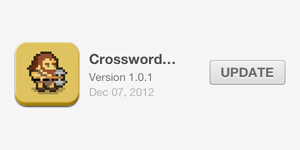 Crossword Dungeon 1.0.1 Released